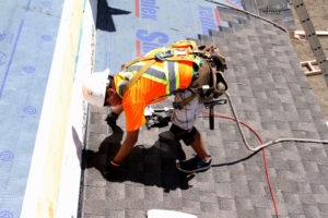 Getting your roofing done in Regina
