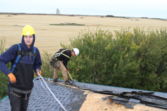 Optimum Roofing Commercial Workers