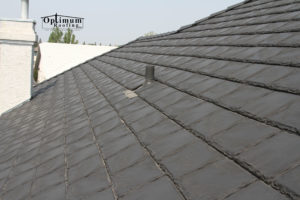 optimum roofing rubber roofing