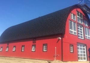 rubber roofing barn