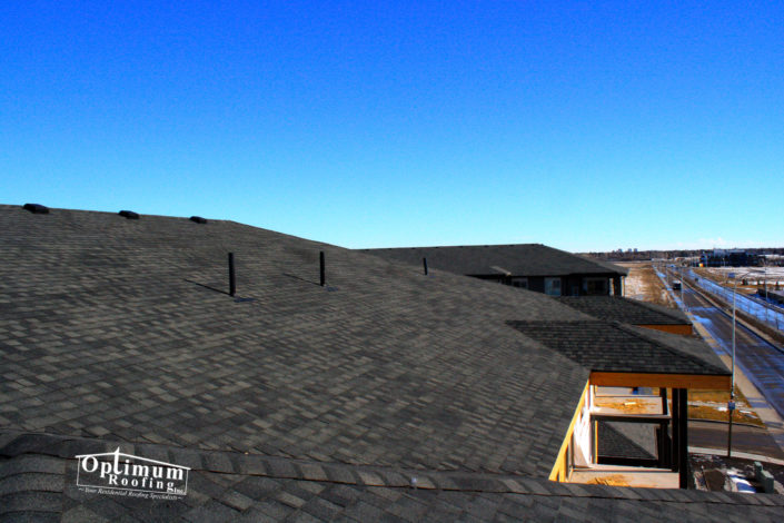 Appartment building shingles-optimum Roofing
