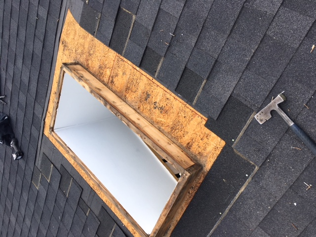 Before Amp After Skylight Who Does Your Roofing Optimum